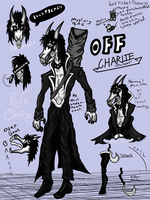 OFF OC Charlie AKA 'The Goat' by Rone-Ombre