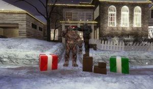 GMOD - Maddy Carmine - Here's a little Santa hat! by Soundwave04