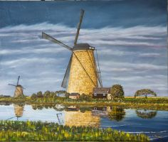 Windmill Afternoon by John-Tansey