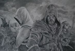 Assassins Creed Drawing by Swaal