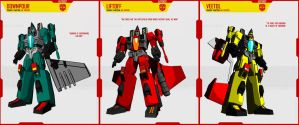 AUTOBOT SEEKERS by F-for-feasant-design
