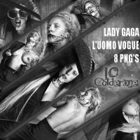 Lady Gaga L'uomo Vogue PNG PACK by J0Calderone