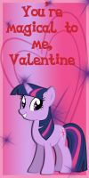 Twilight Sparkle Valentine Card by Kurenai-Hio