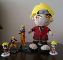 My All Uzumaki Naruto Figures by ng9