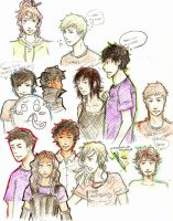 pjo and heroes of olympus mashup by tanjuluZ