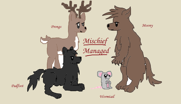 Mischief Managed!-Harry Potter by Lalalaly19