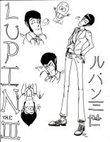 Lupin the Third -WIP- by SuicidalSnail