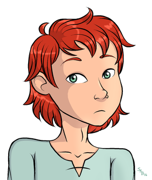 Redhead by wisdomsblessing