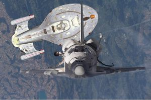 Space Shuttle and..WHAT? 2 by AzaniaDragon