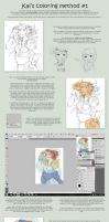 Coloring Tutorial by owdof