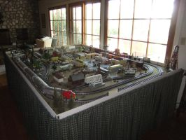 O Scale Layout Overview 1 by SouthwestChief