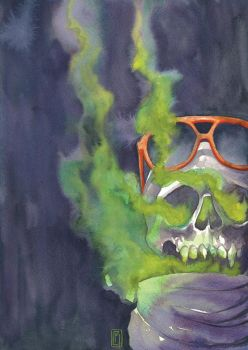 Hipster Corpse by vegapimpz