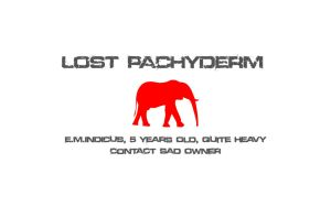 Lost Pachyderm by cyrusyrus