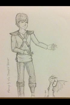 hiccup teaches by lovelielove