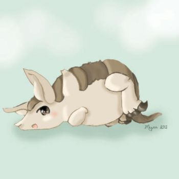 Armadillo by be-my-revolution