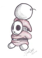 Shy Guy by AdanMGarcia