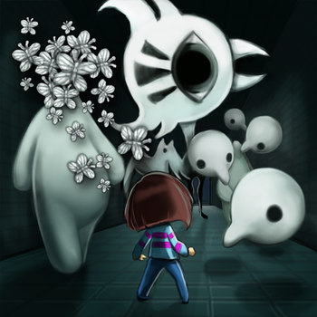Undertale: 84. Amalgam by cubu3