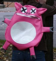 Dead Pig Backpack by DeadBackpacks