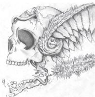 Winged Skull by Flash-Gamers