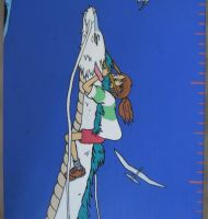 Measuring Rod Ghibli Project -8/9-Chihiro and Haku by LeVerDeTerre