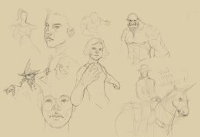 sketches by Warmics