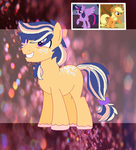 Applejack x Princess Twilight Sparkle foal by MayhemAd0pts