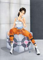 Chell by TalisX