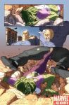 She Hulk comic page n1 by cuccadesign