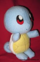 Squirtle Poke-plush by fromzombieswithlove