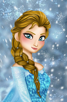 Queen Elsa-Brown Hair by Eros-lanson