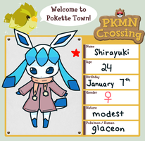 PKMN Crossing: Shirayuki by KT-Chewy