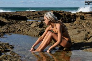 Jaimie - rockpool 1 by wildplaces
