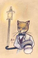 Baron the cat by who-stole-MY-name