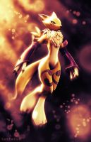 Sunset Renamon 2 by KP-ShadowSquirrel