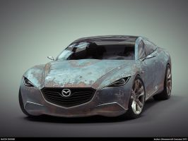 Rusty Mazda Shinari #1 by keshon83