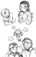 Avatar: Sketches by ahnline