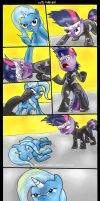 Solid Twilight vs Liquid Trixie by NeroScottKennedy