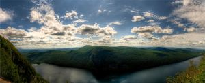 Lake Willoughby Panorama by Shanec86