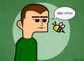 Bee-otch by creepyboy