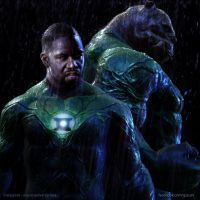John Stewart and Kilowog by vshen