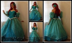 Little Mermaid Ballgown by Durnesque