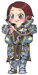 Com: WoW chibi Suneblue by roseannepage