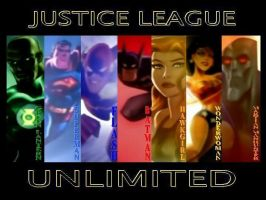 Justice League Unlimited by lil-melmeow