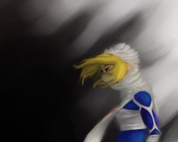 Sheik speed paint by Astatos-Luna