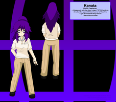 SSS - Kanata Outfit Ref 2 by TrainerKelly