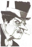 Penguin Villain by PCohen-Artwork