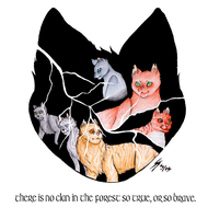 Thunderclan Logo by 2tigershade4