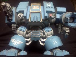 Warhammer 40K Space Marine Dreadnought Mk V by kotlesiu