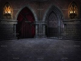Gothic Chamber 1 by Trisste-stocks