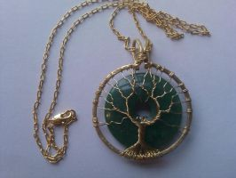 Tree of the World Pendant by MetalLife21
